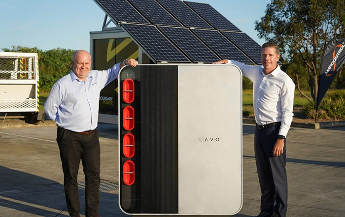 Hydrogen Lavo stand-alone power systems